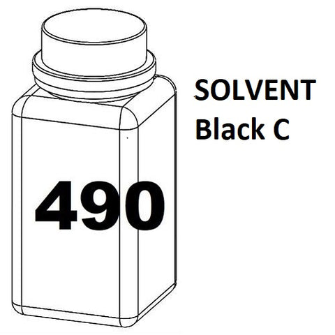 RN Mark RNjet bulk ink bottle 490ml SOLVENT Black C