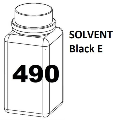 RN Mark RNjet bulk ink bottle 490ml SOLVENT Black E