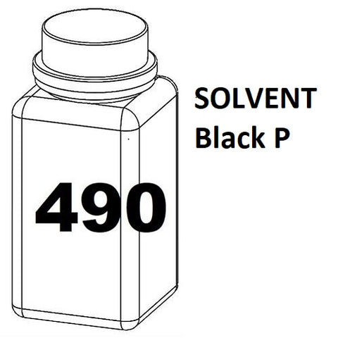 RN Mark RNjet bulk ink bottle 490ml SOLVENT Black P