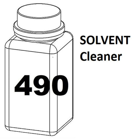 RN Mark RNjet bulk ink bottle 490ml SOLVENT Cleaner