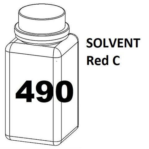 RN Mark RNjet bulk ink bottle 490ml SOLVENT Red C