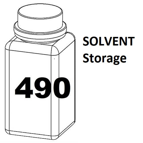 RN Mark RNjet bulk ink bottle 490ml SOLVENT Storage