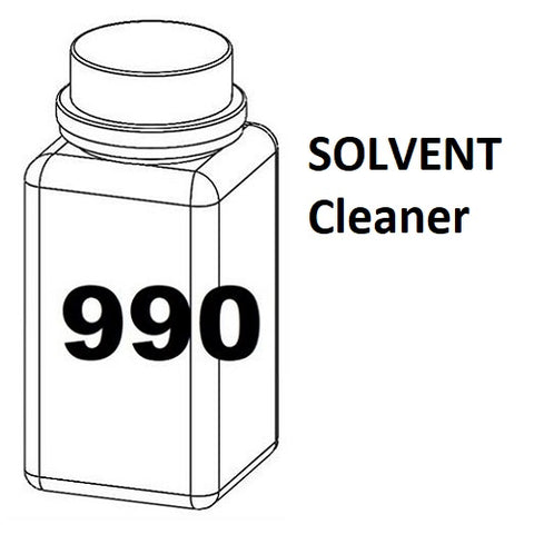 RN Mark RNjet bulk ink bottle 990ml SOLVENT Cleaner