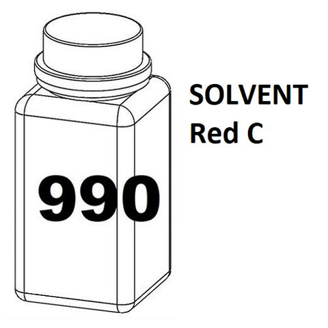 RN Mark RNjet bulk ink bottle 990ml SOLVENT Red C