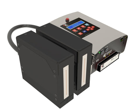 RN Mark E1-140 OIL Inline Inkjet Printer Piezo