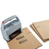 Reiner jetStamp 1025 Portable printer cardboard