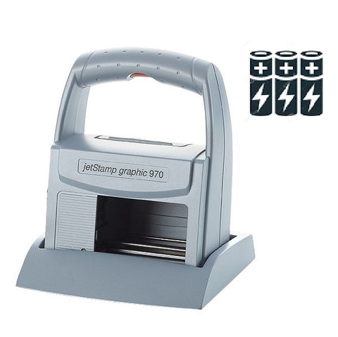 Reiner jetStamp graphic 970 Handheld Inkjet Printer Kit