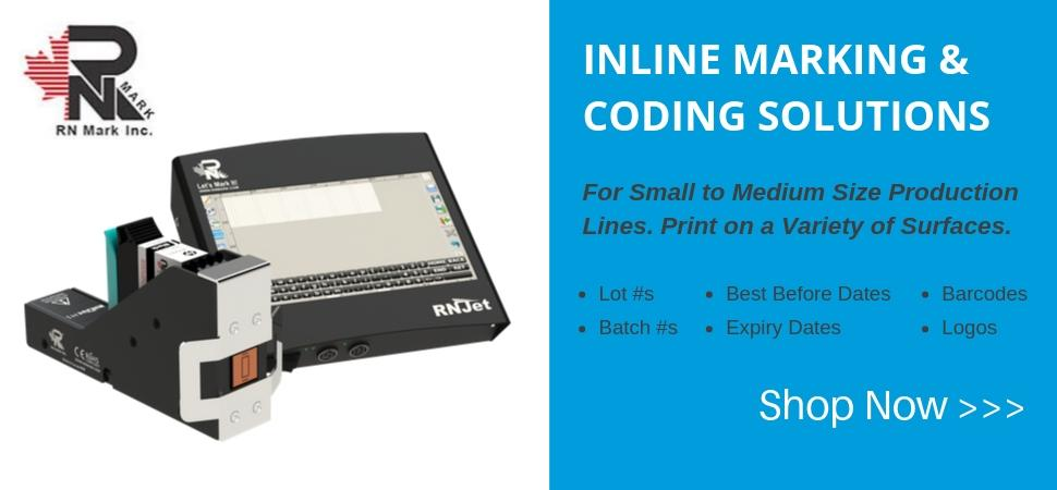 Introducing RN Mark Inline Inkjet & Coding Printers