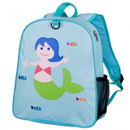 Wildkin Mermaid Embroidered Backpack