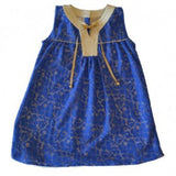 Papalote Blue Crystal Tunic
