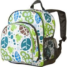 Wildkin Frogs Snack Backpack