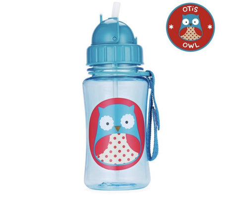 Zoo Owl Straw Bottle