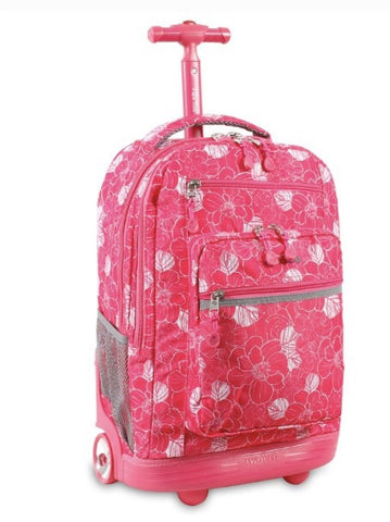 "Aloha 19"" Rolling Backpack"
