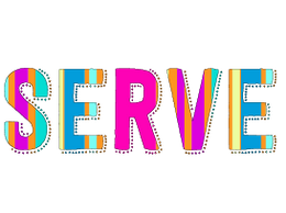 Serve by Hallie B Logo