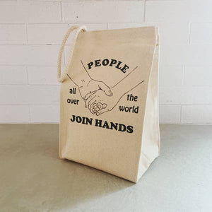 Join Hands Lunch Bag
