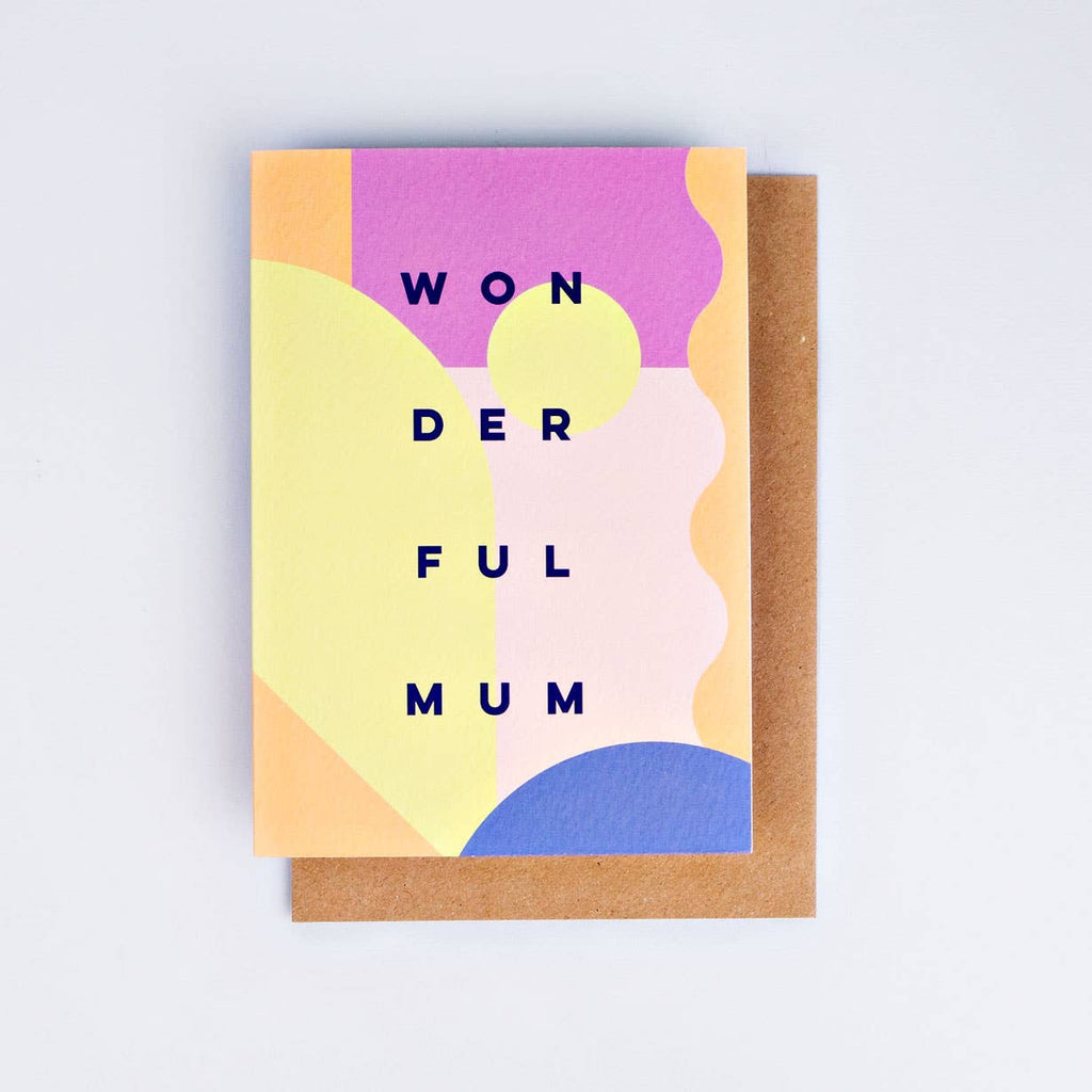 The Completist - Wonderful Mum Card