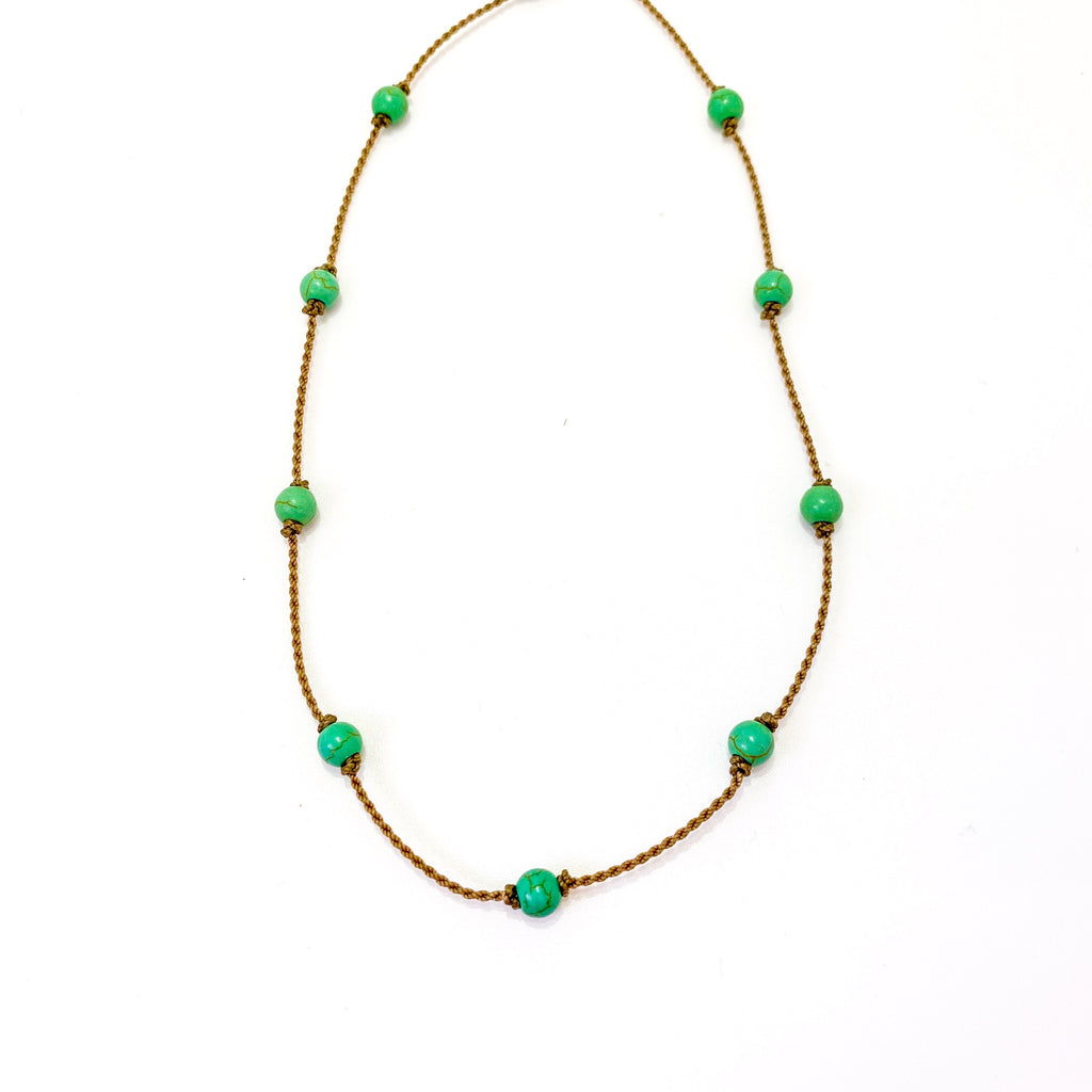 The Green Howlite Princess