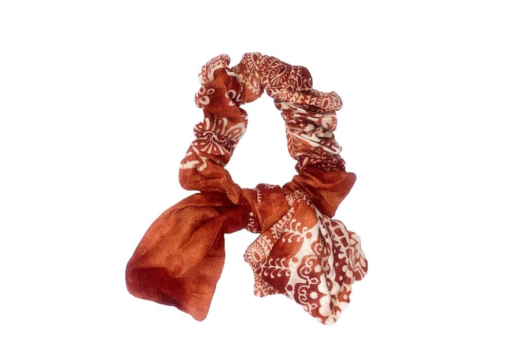 Fire Island Scrunchies with Bow
