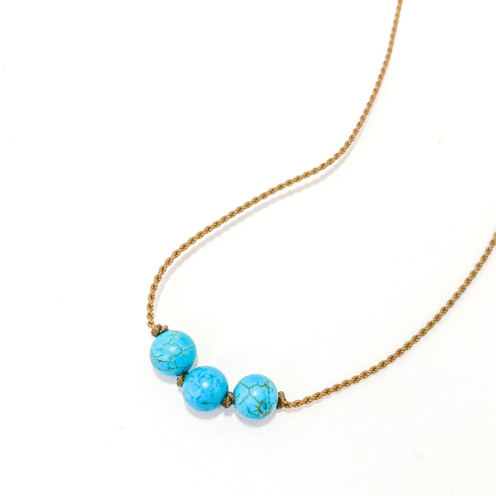 Triple Knotted - Turquoise