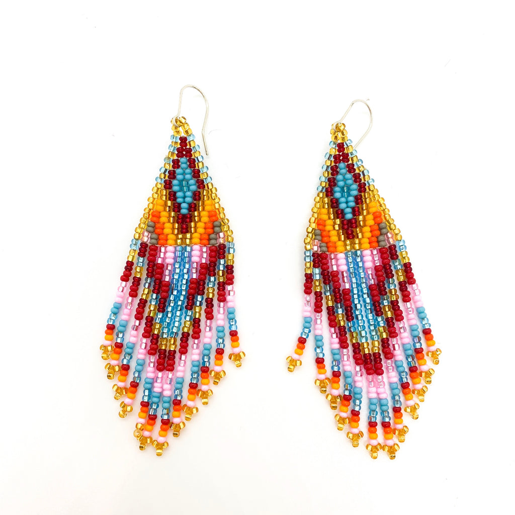Burning Woman Mini Earrings