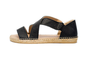 Espadrilles- Beach Black