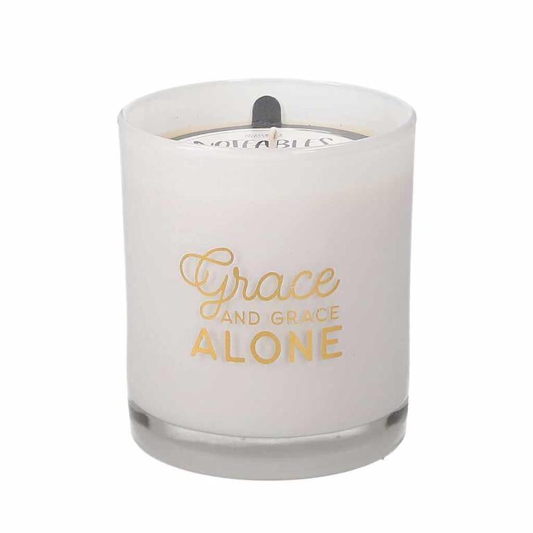 Grace Alone Candle