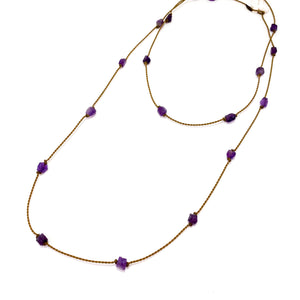 Amethyst Gypsy Wrap | Necklace