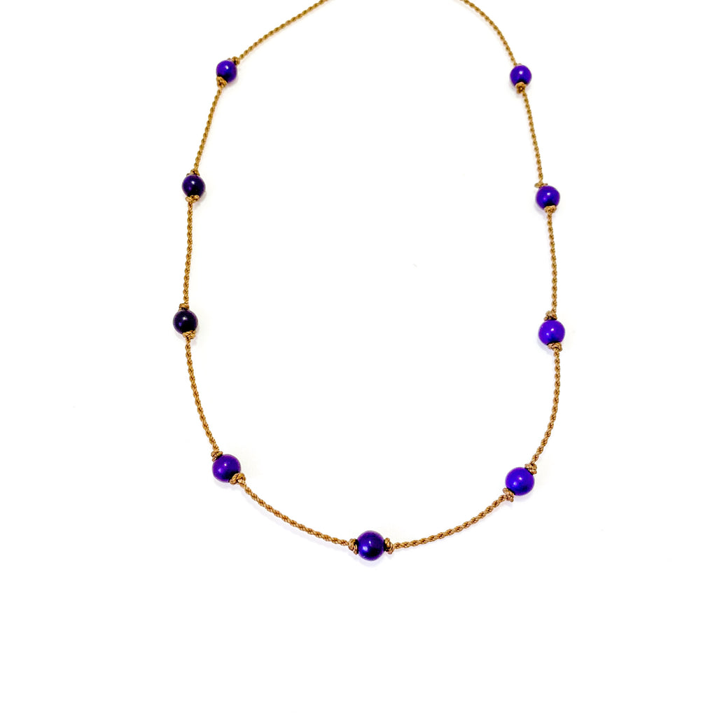 The Purple Howlite Princess