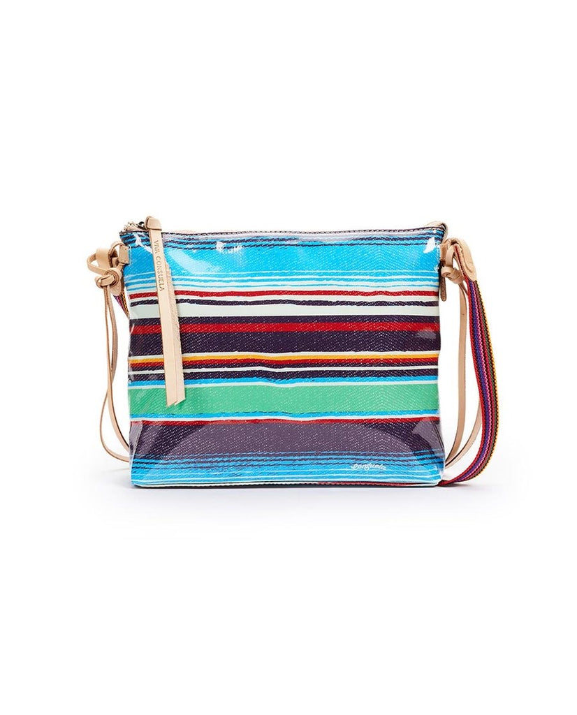 Downtown Crossbody, Deanna Canvas Stripe