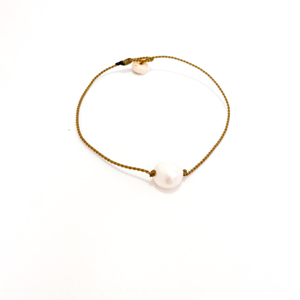 Single Pearl Anklet