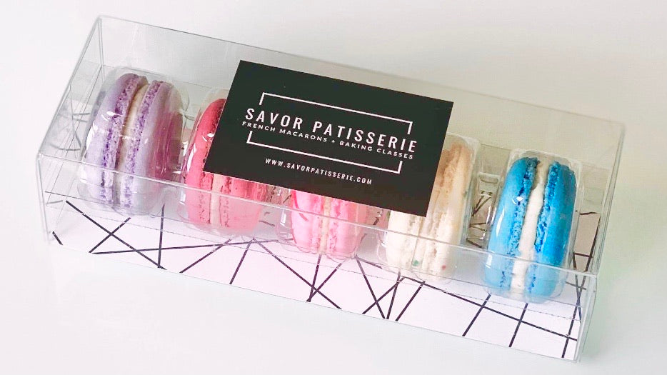 Five Unicorn Savor Patisserie French Macarons