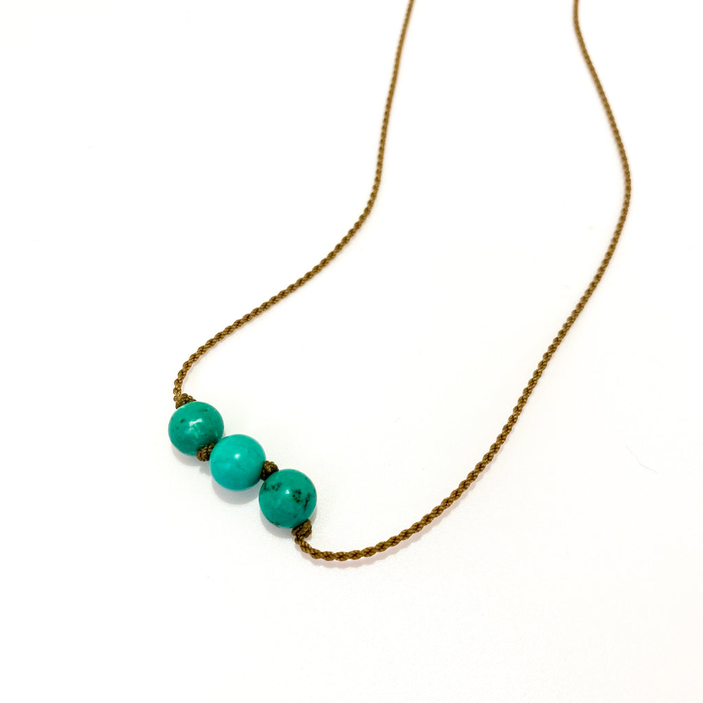 Triple Knotted - Light Turquoise