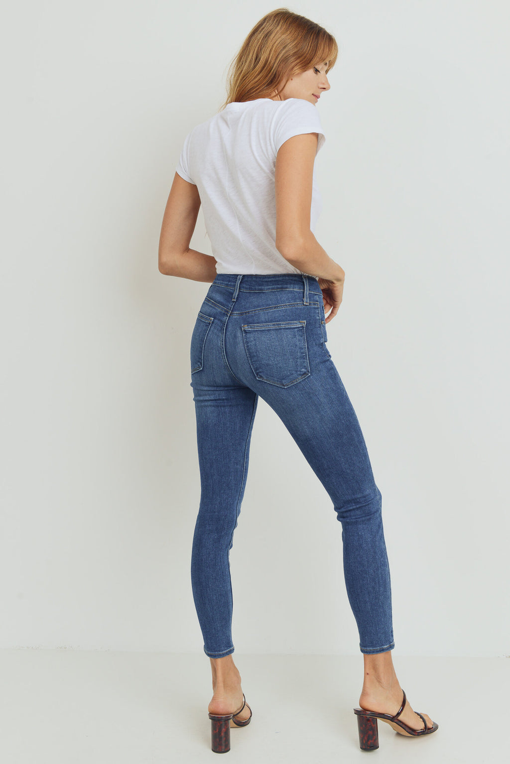 The Basic Skinny Medium Denim
