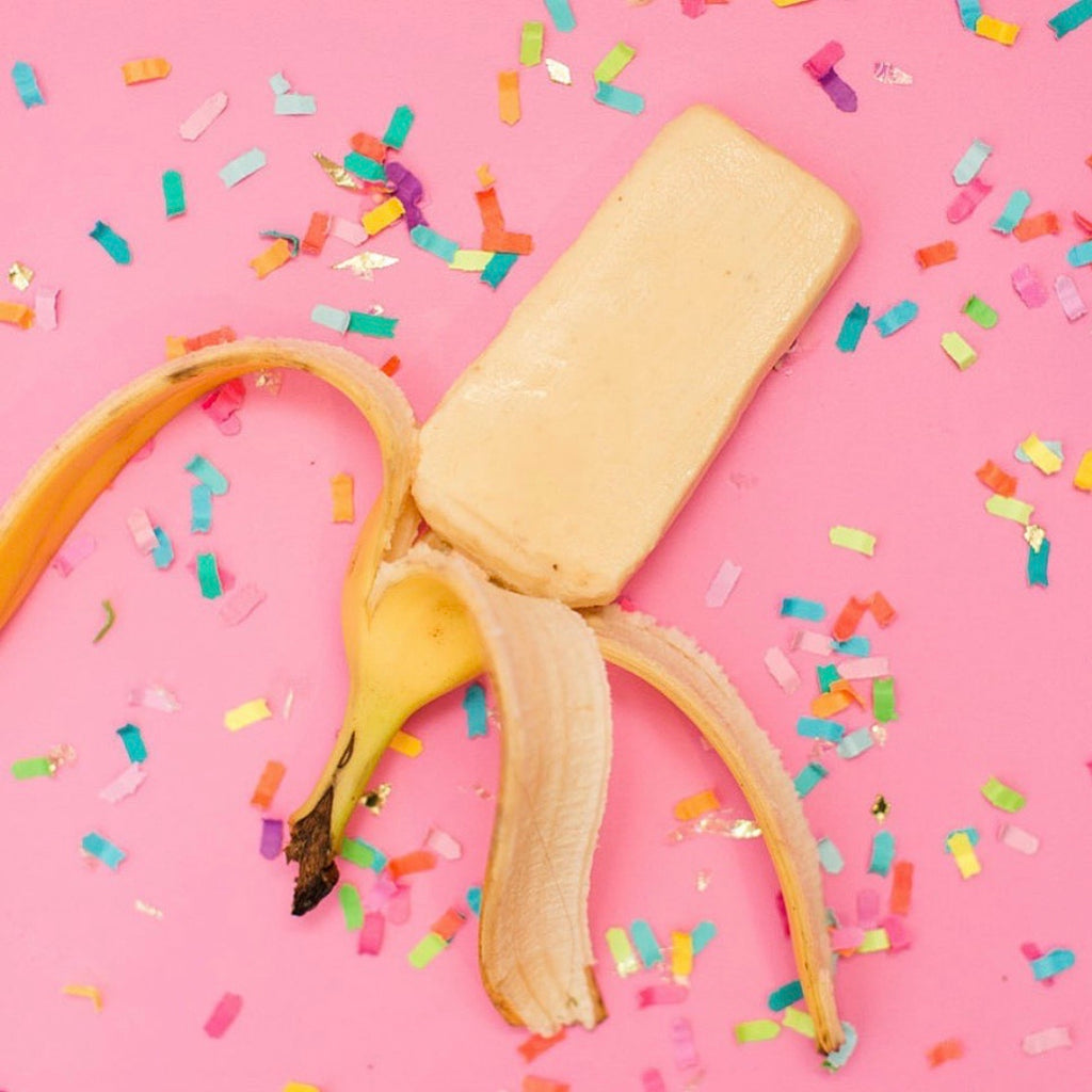Bananas and Cream Paleta