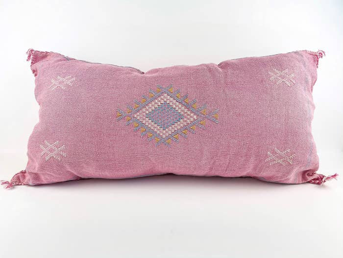 Extra Large Pink Silk Sabra Cover