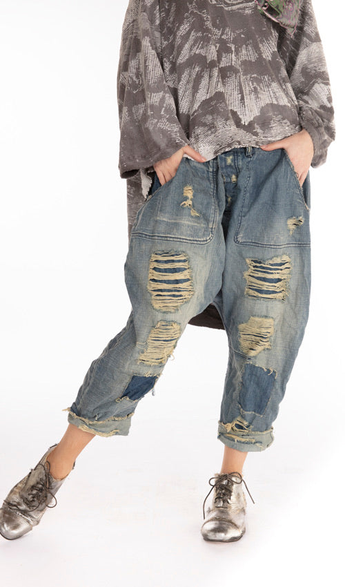 pants 171 washed indigo 82483