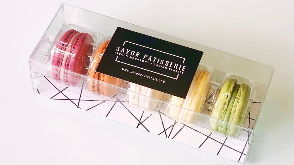 Five Classic Savor Patisserie French Macarons