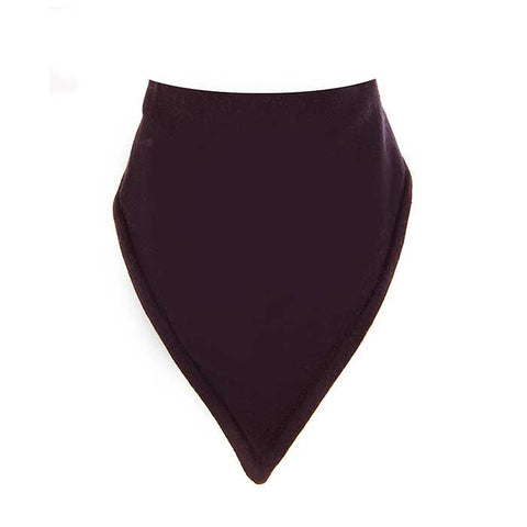 Bandana Bib-Plain Black