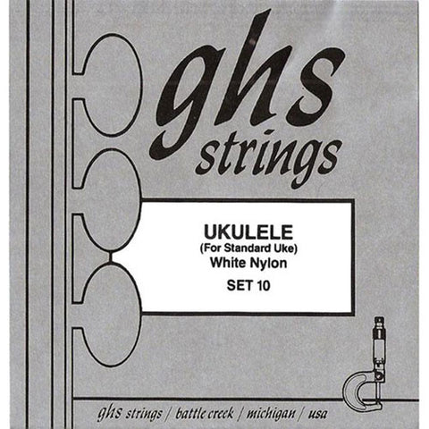 GHS Ukulele Strings White Nylon