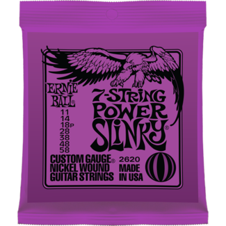 Ernie Ball 7-string Power Slinky Nickel Wound