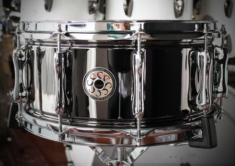 "Sakae Snare Drum 14"" x 6.5"" (Black Nickel)"