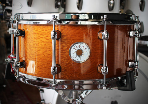 "Sakae Snare Drum 14"" x 6.5"" (Silky Oak Natural)"