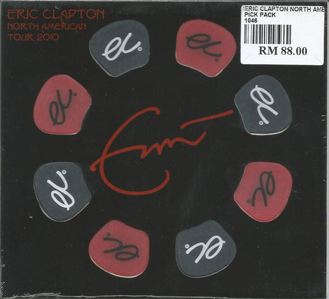 Eric Clapton North America Europe Tour 2010 Pick Pack