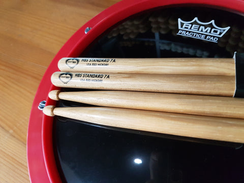 Heartbeat HBS Standard Series Red Hickory 7A Acorn Tip