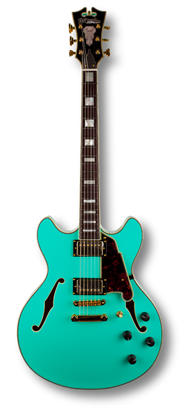 D'Angelico EX-DC - Surf Green (Gold hardware)