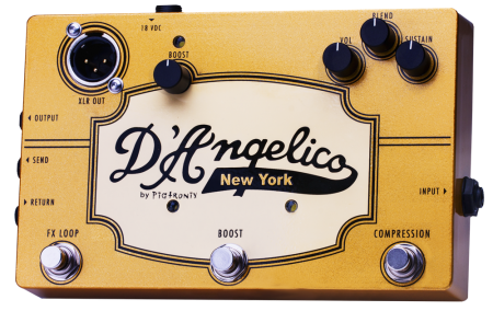 Pigtronix D'Angelico New York I Pedal