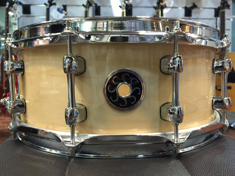 Sakae Snare Drum Maple Righty Halo - (Natural)