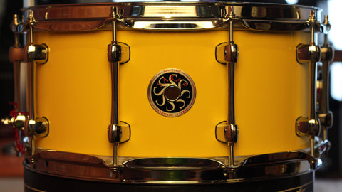 "Sakae Snare Drum Maple Righty Halo 14"" × 6.5"" - (Cheese Cake)"