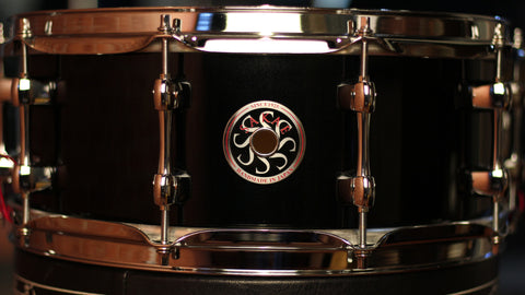 "Sakae Snare Drum Maple Righty Halo 14""×5.5"" - (Night Sky)"