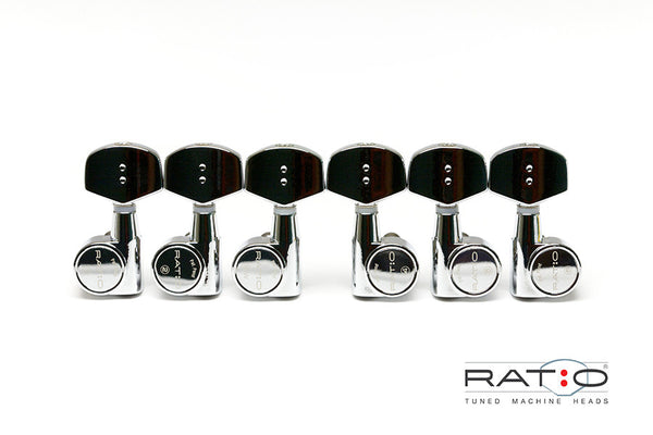 Ratio Acoustic 3+3 Contemporary 2 Pin - Chrome
